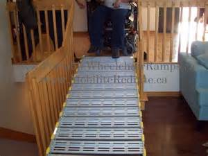 Stair Ramps For Wheelchairs by Portable Ramps For Stairs Wheelchair Ramps Canada 1 866