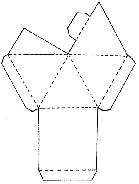 How To Fold A Paper Pyramid - pyramid crafts for second grade decorated the outsides