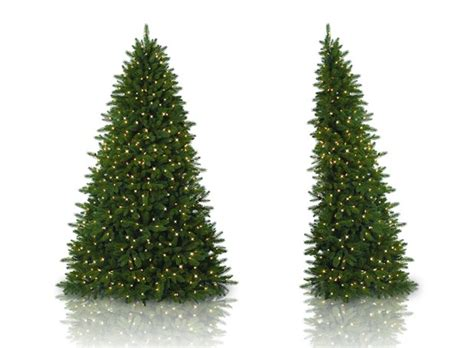 flatback christmas trees a holiday miracle for small spaces