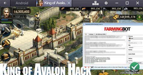 hacked apks king of avalon warfare cheats bots updated king of avalon warfare