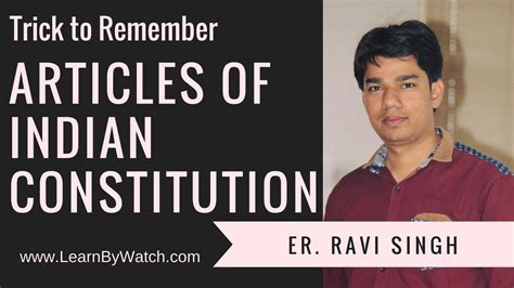 Mba Competition Tips by Trick To Remember Articles Of Indian Constitution Part 3