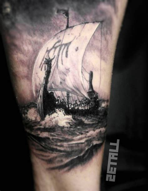 vikings tattoo designs best 25 viking ship ideas on viking