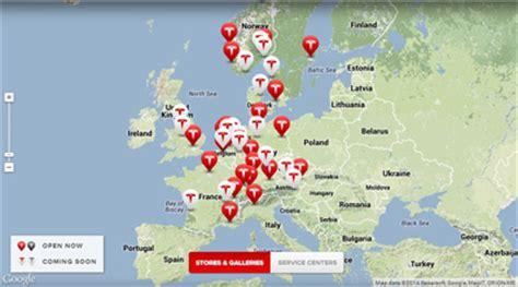 Tesla Europe Tesla Expands European Bricks And Mortar Presence To
