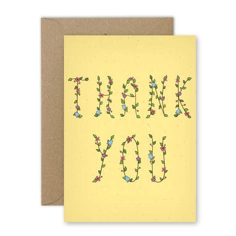 Kartu Ucapan Gift Card 1pcs cetak kartu ucapan terima kasih ty002 uprint id