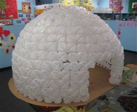 How To Make An Igloo Out Of Paper - 1000 ideas about milk jug igloo on milk jug