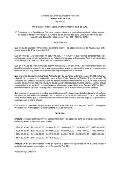 pensionado por decreto 2016 decreto 1287 2016