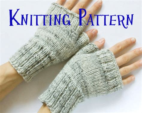 free fingerless gloves knitting pattern uk instant pdf knitting pattern fingerless mittens