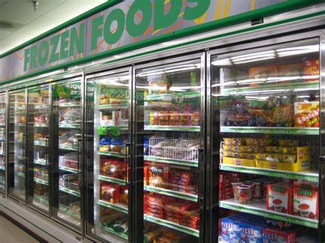 frozen food section it s national frozen food day pee wee s blog