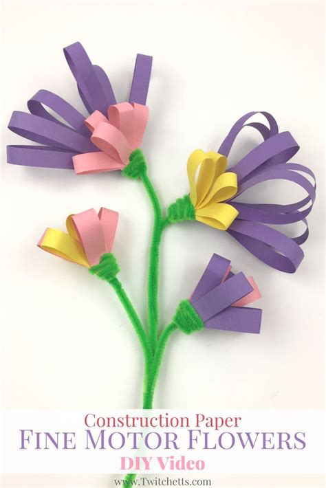 Diy Construction Paper Crafts - 17 best ideas about construction paper flowers on