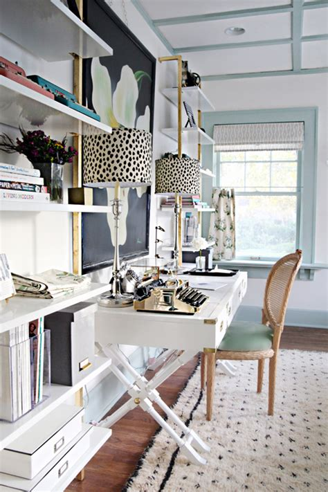 chic home office desk iheart organizing a storied style home office guest