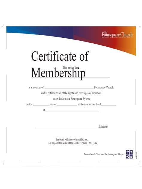 membership certificate template word membership certificate 6 free templates in pdf word