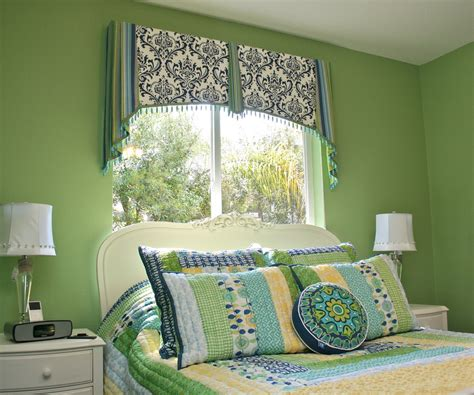 Bedroom Valance by Window Valance Styles Spaces Traditional With 80108
