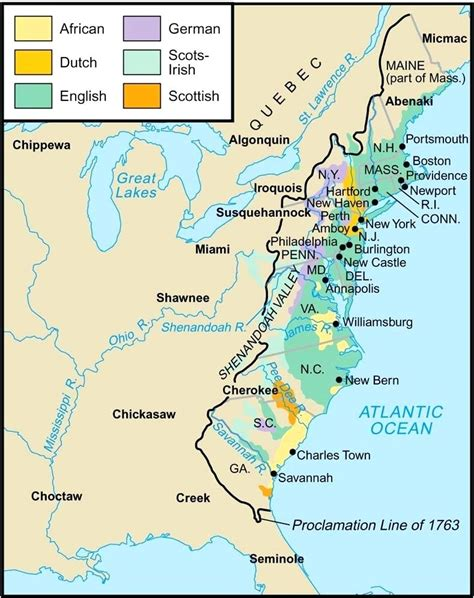 map with cities and rivers 13 colonies map cities labeled efcopower info