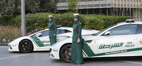 The Luxury Cars of the Dubai Police Department