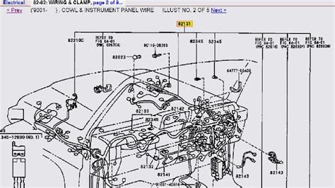 land cruiser 100 series wiring diagram land free engine