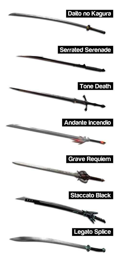 sword list swords image blade symphony mod db