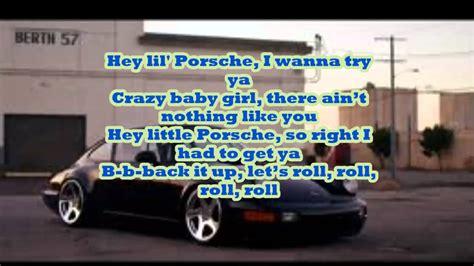 Hey Porsche Nelly by Nelly Hey Porsche Lyrics On Screen