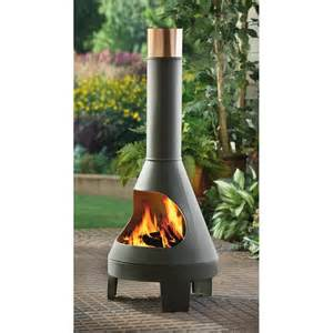 Patio Chiminea Steel Chiminea 53 95 Free S H Mybargainbuddy