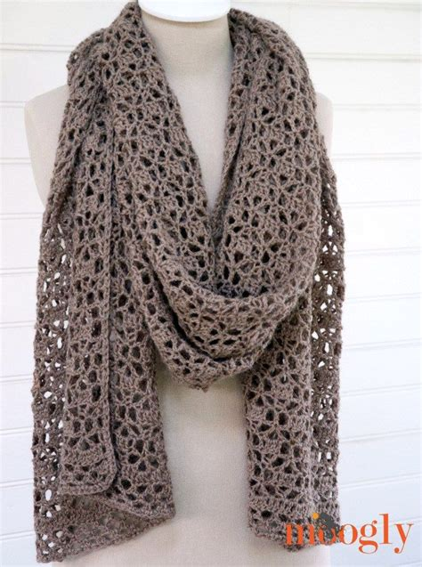 1000 ideas about crochet scarf patterns on
