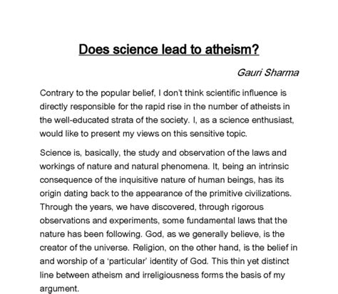 Does God Exist Philosophy Essay by Does God Exist Philosophy Paper
