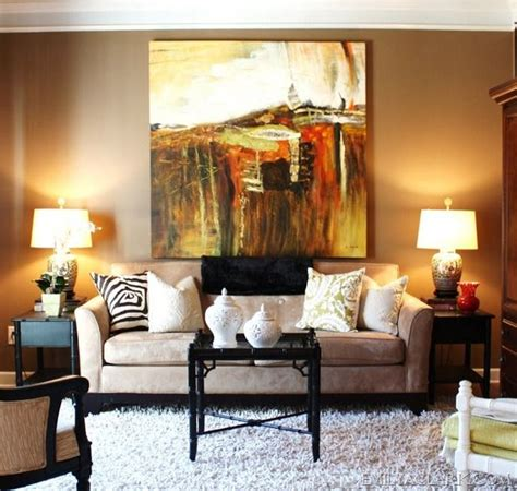 Large Art Over The Sofa Places Great Rooms And Living