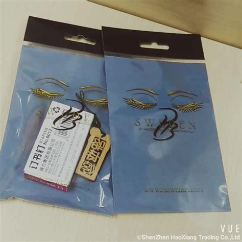 Plastik Opp Fancy printed plastic bopp hearder packing bag buy bopp bag