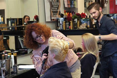 la nuit de la coiffure par l or 233 al professionnelh 233 ma pose