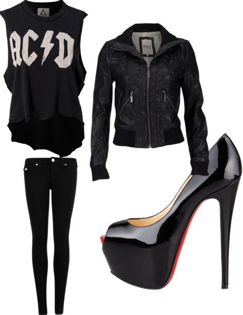 Fashion Advice How To Dress Like A Rock by Quot Rock Quot By Kaz Goss On Polyvore Rock N Roll