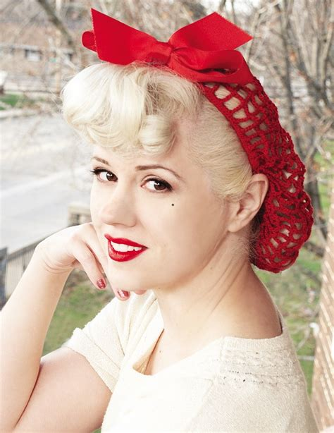 Vintage Pin Up Hairstyles by Vintage Pin Up Hairstyles Glamy Hair