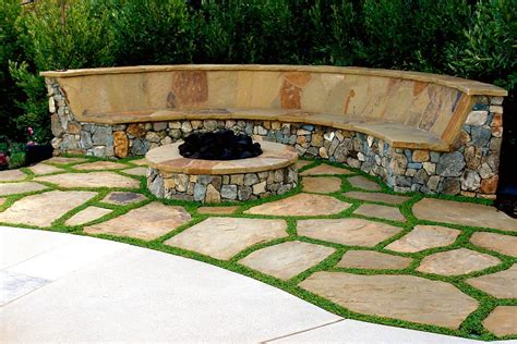 bench fire curved fire pit bench with back fire pit design ideas