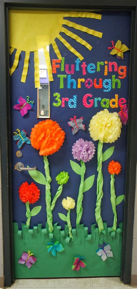 door decorations for spring fun spring door bulletin boards pinterest good books