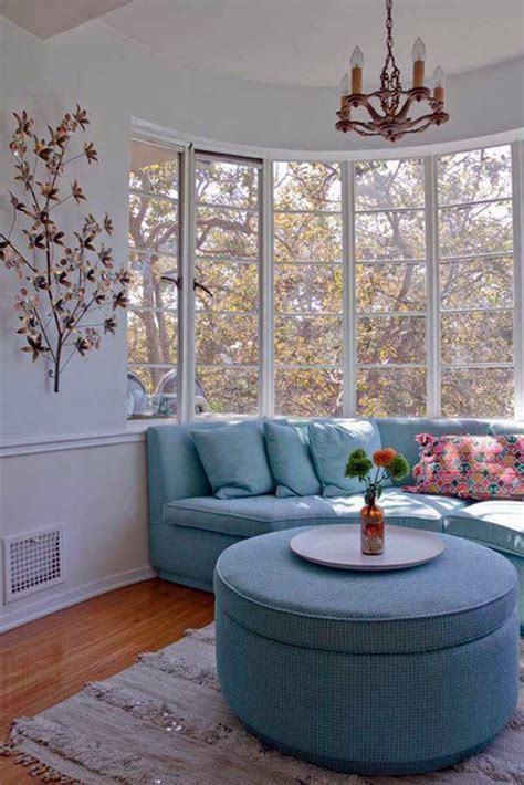 cozy window seats  bay windows   view