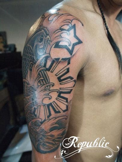 pinoy tribal tattoos 30 really awesome designs
