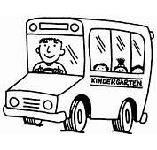 Desenho De Motorista &244nibus Escolar Para Colorir
