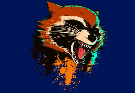 design by humans raccoon badass raccoon t shirt by mankeeboi design by humans