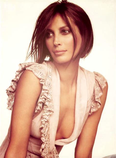 pics of christy turlington when she had short hair 25 best celebrity short hairstyles 2012 2013 short