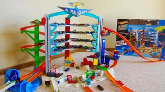Hot Wheels Ultimate Garage Playset with Attack Shark