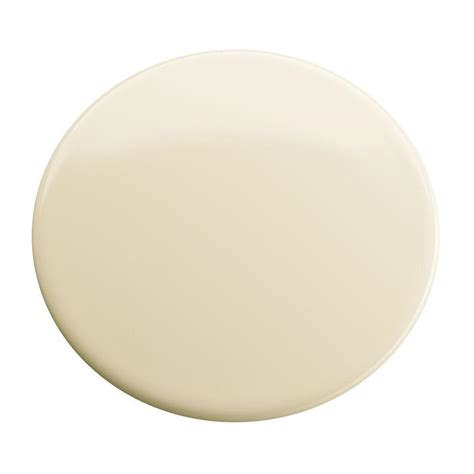 ceiling fan hole cover 1 3 4 in hole cover in almond k 8830 47 the home depot