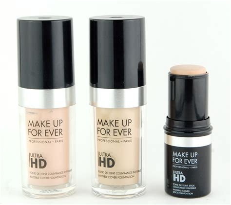 Foundation Make make up for ultra hd invisible cover foundation stick in shades r220 r230 y225 swatch