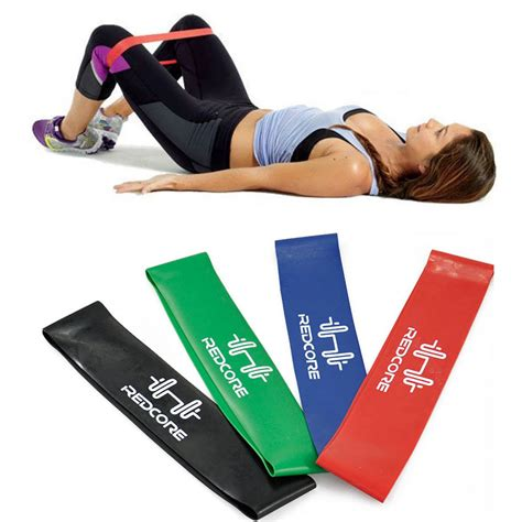 Elastic Rubber Stretch Rope Pilates Limited bodybuilding 4 levels pilates rubber resistance bands