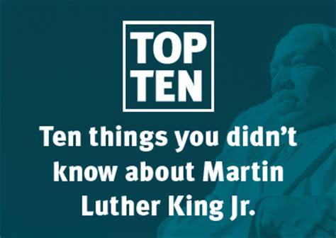 national lipstick day ten things you didnt know about ten things you didn t know about martin luther king jr