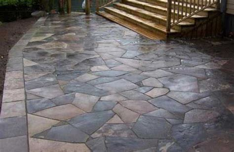 17 best images about patios with flagstone on