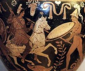 Iranian Vase 5 Myths About The Amazons Ancient Female Warriors