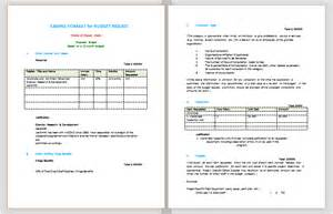 Proposed Budget Template Budget Proposal Format Sample Budget Templates