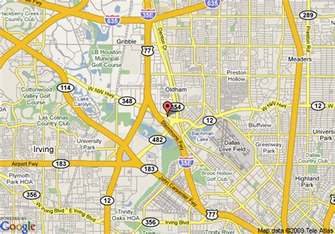 northwest texas map map of la quinta inn and suites dallas northwest dallas
