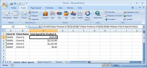 Tutorial Excel Formulas 2007 | how to insert sum equation in word 2007 tessshebaylo