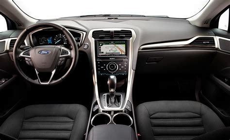 2013 ford fusion se hybrid interior brown hairs