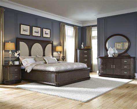 najarian bedroom set  panel bed obsessions na obset