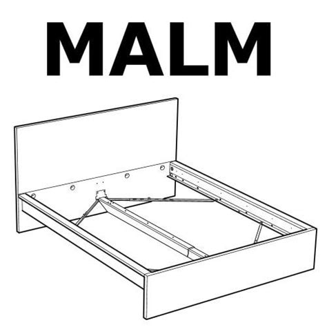 Parts Of A Bed Frame Ikea Malm Bed Frame High Bed Replacement Parts Furnitureparts