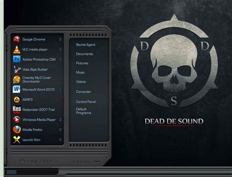 download themes for windows 7 skull 8 best custom windows 7 visual themes for january 2012